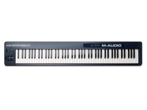 2) M-Audio Keystation 88