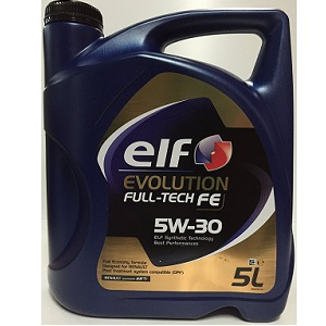4.Car lubrifiant Elf Evolution Full-Tech FE 5W30